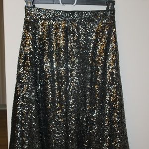 Sequin Circle Skirt